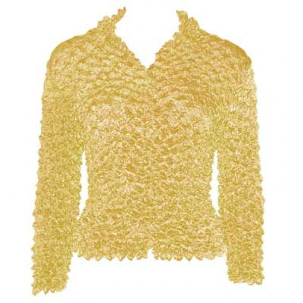 Wholesale Gourmet Popcorn - Cardigans with Collar Maize - One Size (S-XL)