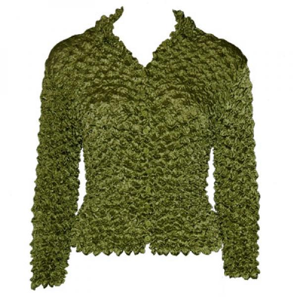 Wholesale Gourmet Popcorn - Cardigans with Collar English Ivy - Queen Size Fits (XL-3X)