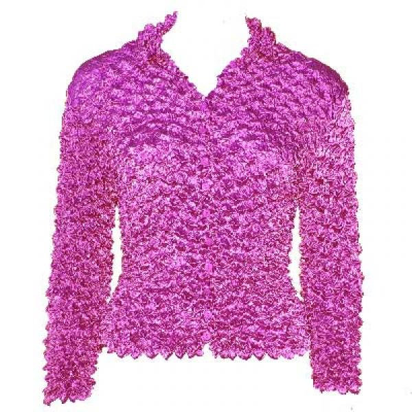 Wholesale Gourmet Popcorn - Cardigans with Collar Orchid - One Size (S-XL)