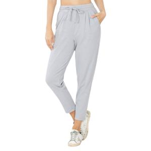 Wholesale  HEATHER GREY 32061 (SIX PACK) Cotton Drawstring Pants (1S/1M/2L/2XL) - 1 Small 1 Medium 2 Large 2 Extra Large