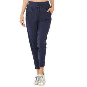 Wholesale  NAVY 32061 (SIX PACK) Cotton Drawstring Pants (1S/1M/2L/2XL) - 1 Small 1 Medium 2 Large 2 Extra Large