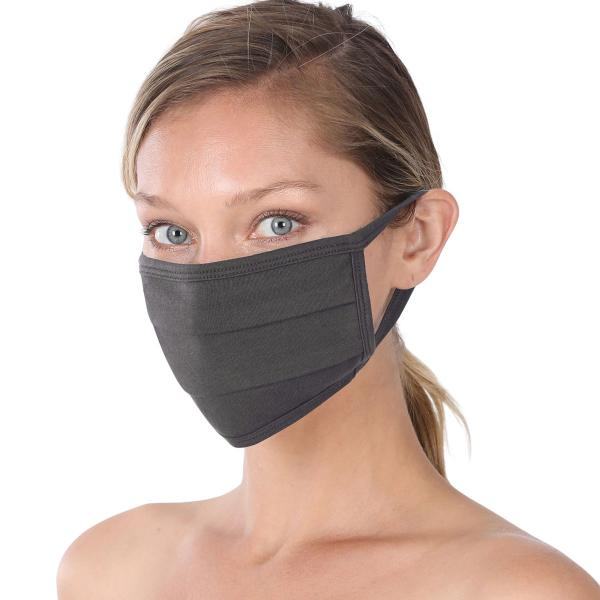 wholesale Protective Masks - Cotton Blend Two Ply CMK/CPMK ASH GREY Protective Masks- Cotton Blend Two Ply CMK:500 -