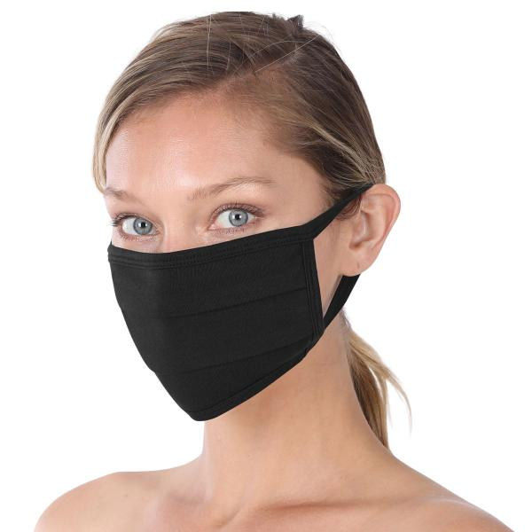 wholesale Protective Masks - Cotton Blend Two Ply CMK/CPMK BLACK Protective Masks- Cotton Blend Two Ply CMK:500 -