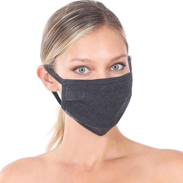 wholesale Protective Masks - Cotton Blend Two Ply CMK/CPMK CHARCOAL Protective Masks- Cotton Blend Two Ply CMK:500 -