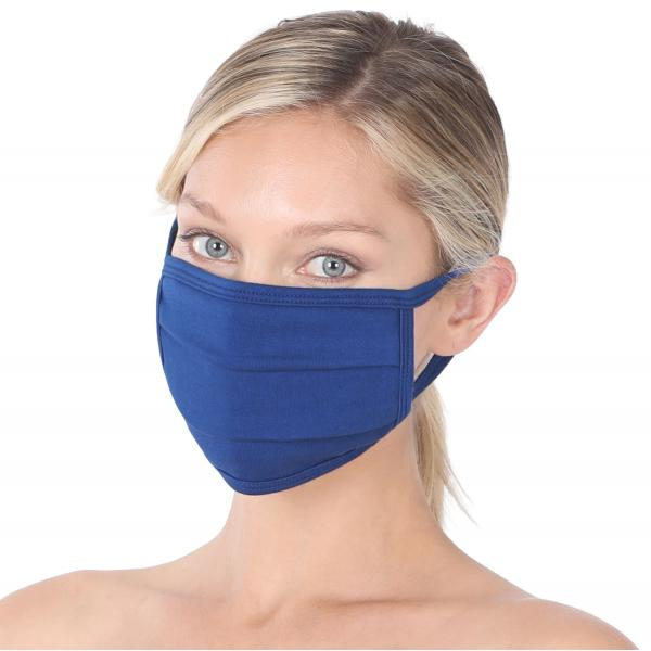 wholesale Protective Masks - Cotton Blend Two Ply CMK/CPMK MID NAVY Protective Masks- Cotton Blend Two Ply CMK:500 -