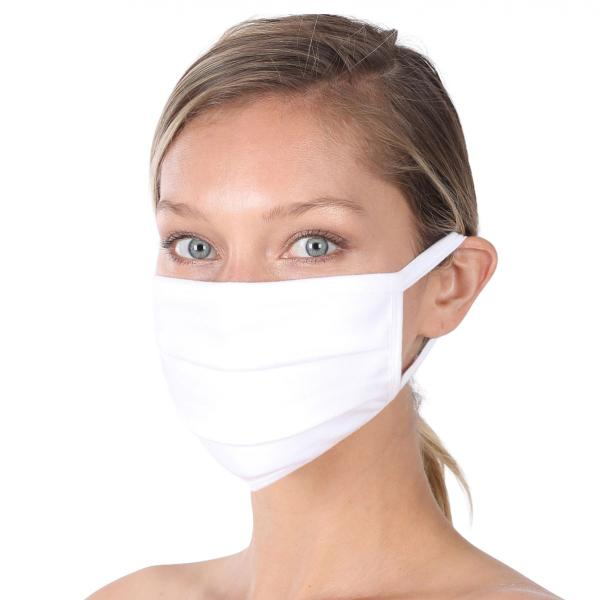 wholesale Protective Masks - Cotton Blend Two Ply CMK/CPMK WHITE Protective Masks- Cotton Blend Two Ply CMK:500 -