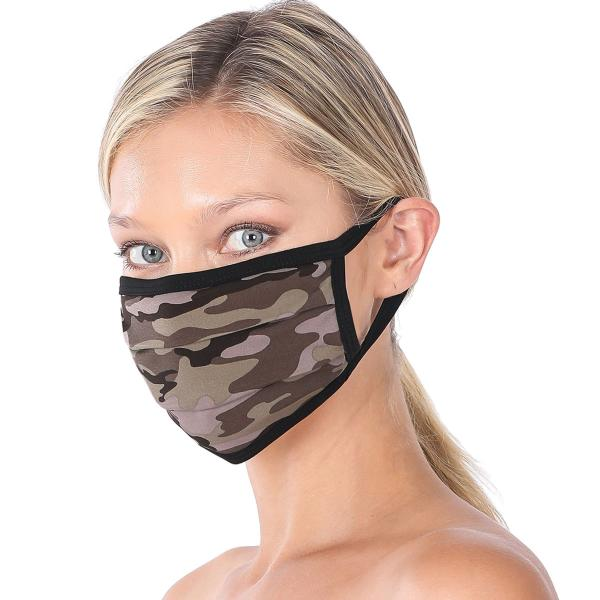 wholesale Protective Masks - Cotton Blend Two Ply CMK/CPMK ARMY CAMOUFLAGE Protective Mask - Two Ply CPMK 501 -