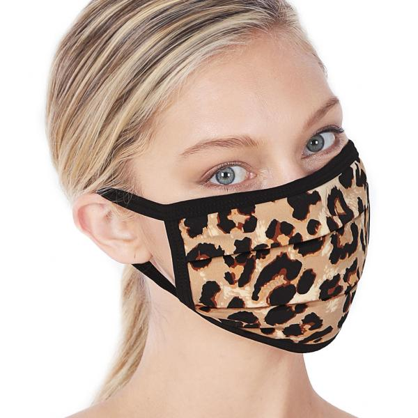wholesale Protective Masks - Cotton Blend Two Ply CMK/CPMK LEOPARD Protective Mask - Two Ply CPMK 502 -