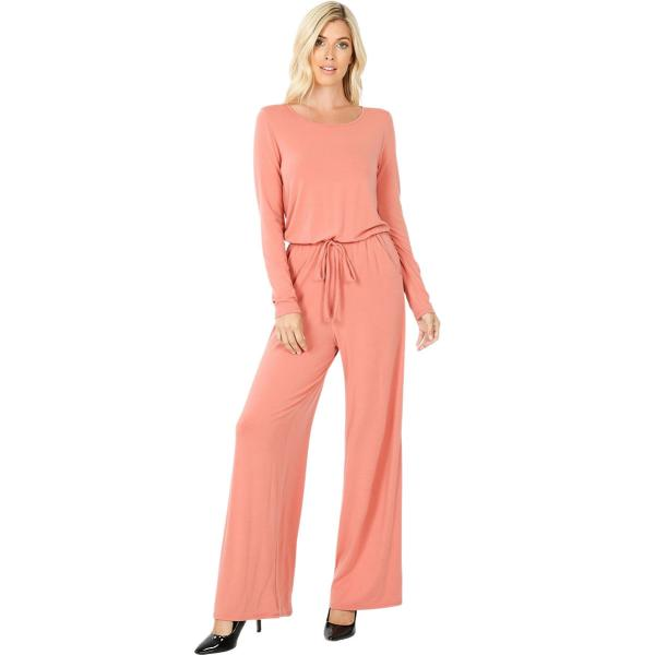 Wholesale Jumpsuit - Back Keyhole Opening 3116 ASH ROSE Jumpsuit - Back Keyhole Opening 3116 - Large