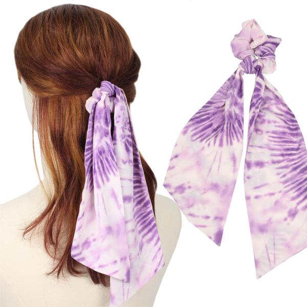 wholesale Hair Ties TIE DYE PRINT PK Hair Tie 2071 -