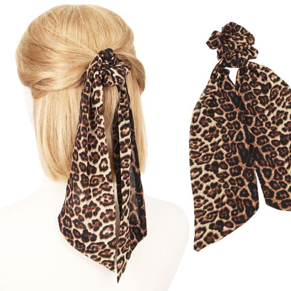 wholesale Hair Ties LEOPARD PRINT Hair Tie 2070 -