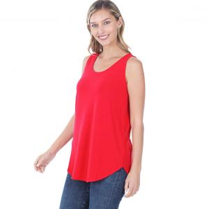 Wholesale  RUBY Sleeveless Round Hem Top 2100 - Large