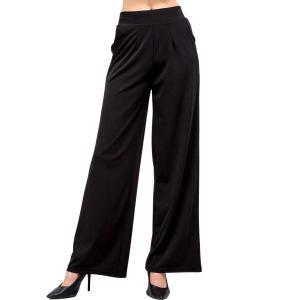 Wholesale  BLACK Wide Leg Pants DP02 - Medium