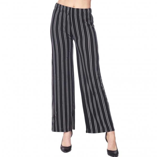 Wholesale Pants - Striped 1926 BLACK AND WHITE Pants - Striped 1926 - S-M