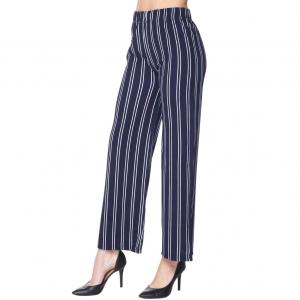 Wholesale  NAVY AND WHITE Pants - Striped 1926 - S-M
