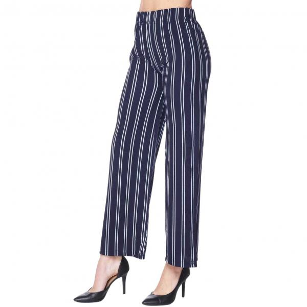 Wholesale Pants - Striped 1926 NAVY AND WHITE Pants - Striped 1926 - S-M