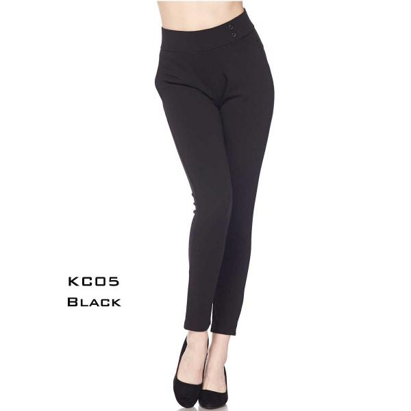 Wholesale Pants - Knit Crepe KC05  BLACK Pants - Knit Crepe KC05 - 1 Small, 2 Medium, 2 Large, 1 Extra Large
