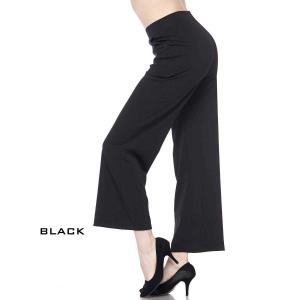 PANTS - Wide Leg TS01 BLACK Wide Leg Pants TS01 - Small