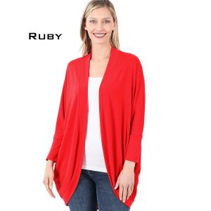 Wholesale  RUBY Cocoon Wrap Cardigan 1819 - Small