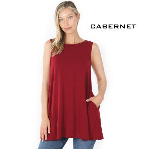 Wholesale  CABERNET Flared Top with Pockets - 1630 - Medium