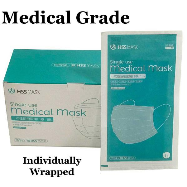 wholesale Display & Merchandising (Many are Free) Free Gift  For You / Medical Grade Disposable Masks Fifty Pack (One per order of $399.00 or more) -