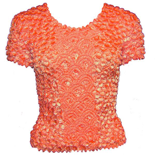 wholesale Coin Fishscale - Short Sleeve Salmon - One Size (S-XL)