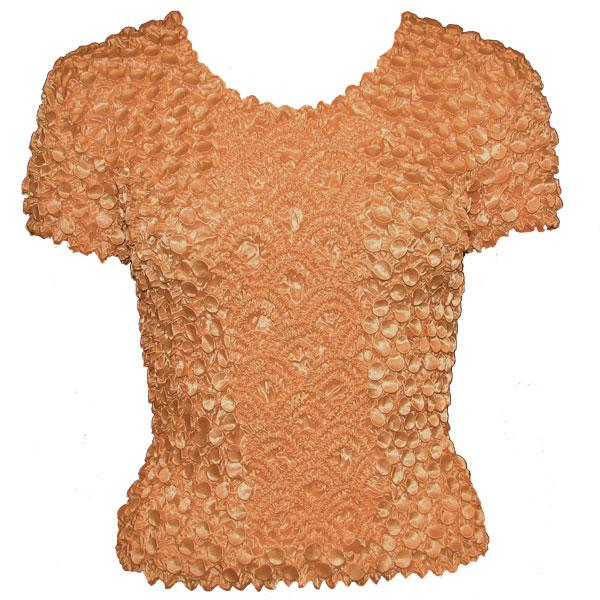 wholesale Coin Fishscale - Short Sleeve Light Copper - One Size (S-XL)