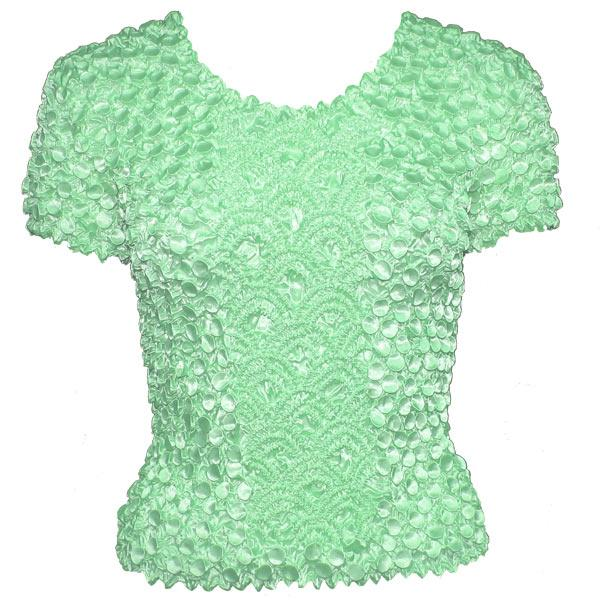 wholesale Coin Fishscale - Short Sleeve Vivid Mint - One Size (S-XL)
