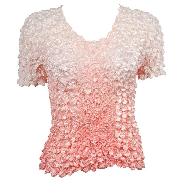 wholesale Coin Fishscale - Short Sleeve Variegated Coral - One Size (S-XL)