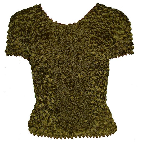 wholesale Coin Fishscale - Short Sleeve Moss - One Size (S-XL)