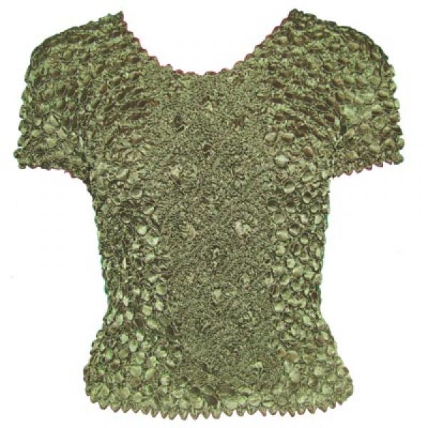 wholesale Coin Fishscale - Short Sleeve Olive - One Size (S-XL)
