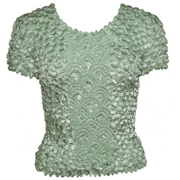 wholesale Coin Fishscale - Short Sleeve Sage - One Size (S-XL)