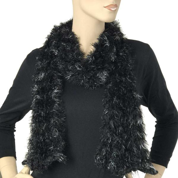 wholesale Original Moa Boa Magic Scarves  Multi Black-Silver Moa Boa Magic Scarf -