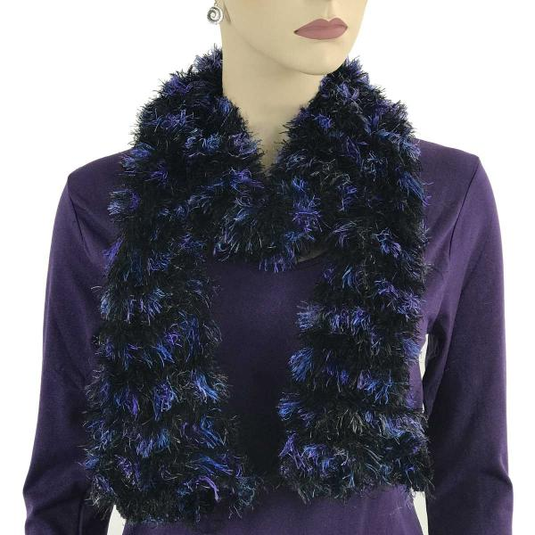 wholesale Original Moa Boa Magic Scarves  Multi Black-Purple-Royal Moa Boa Magic Scarf -