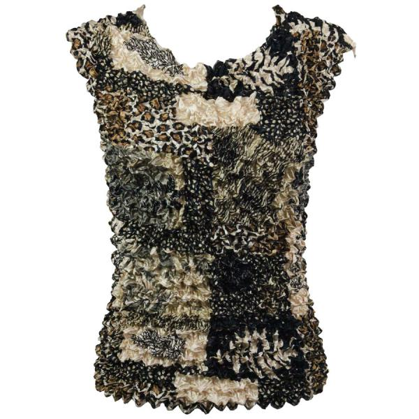 Wholesale Gourmet Popcorn - Sleeveless Patchwork Jungle - One Size (S-XL)