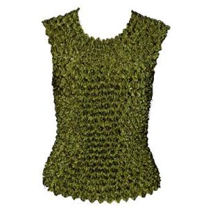 wholesale Gourmet Popcorn - Sleeveless Olive  - One Size (S-XL)