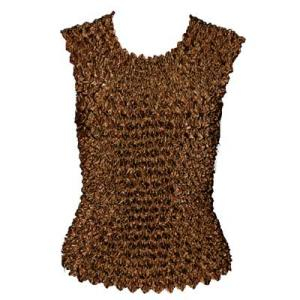 wholesale Gourmet Popcorn - Sleeveless Brown  - One Size (S-XL)