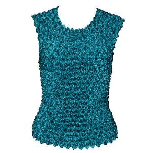 wholesale Gourmet Popcorn - Sleeveless Teal Blue - One Size (S-XL)