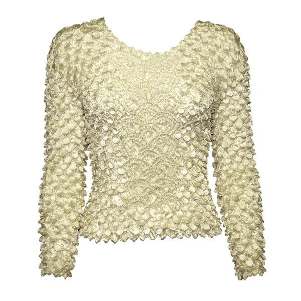 Wholesale Coin Fishscale - Long Sleeve Pearl Coin Fishscale - Long Sleeve - One Size (S-XL)