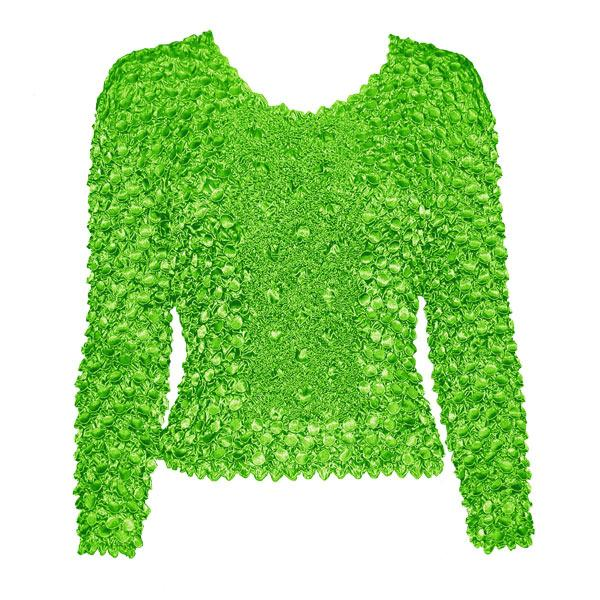 Wholesale Coin Fishscale - Long Sleeve Vivid Green Coin Fishscale - Long Sleeve - One Size (S-XL)