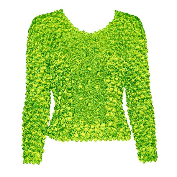 Wholesale Coin Fishscale - Long Sleeve Neon Green Coin Fishscale - Long Sleeve - One Size (S-XL)