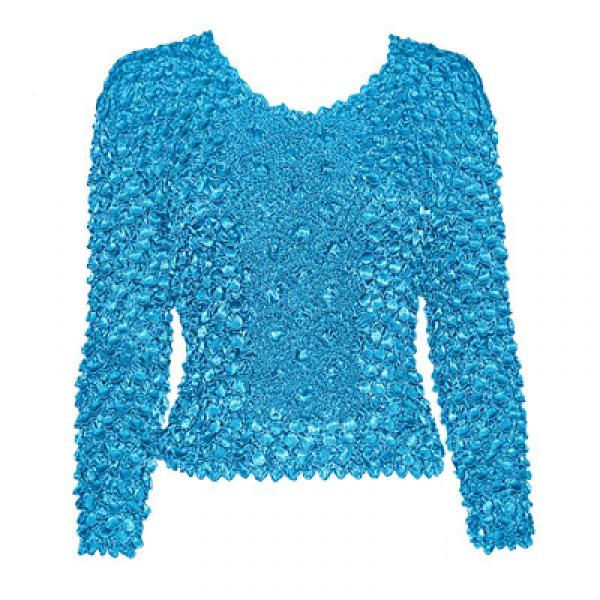 Wholesale Coin Fishscale - Long Sleeve Turquoise Coin Fishscale - Long Sleeve - One Size (S-XL)
