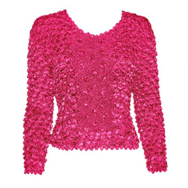 Wholesale Coin Fishscale - Long Sleeve Magenta Coin Fishscale - Long Sleeve - One Size (S-XL)