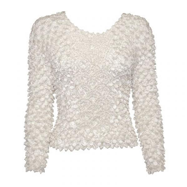 Wholesale Coin Fishscale - Long Sleeve White Coin Fishscale - Long Sleeve - One Size (S-XL)