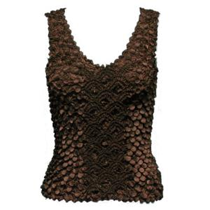 wholesale Coin Fishscale - Tank Top Coffee - One Size (S-XL)