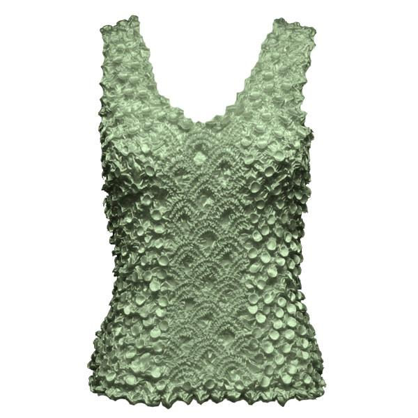 wholesale Coin Fishscale - Tank Top Sage - One Size (S-XL)
