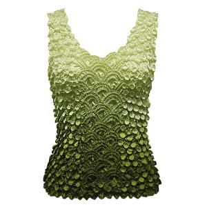 wholesale Coin Fishscale - Tank Top Variegated Olive - One Size (S-XL)