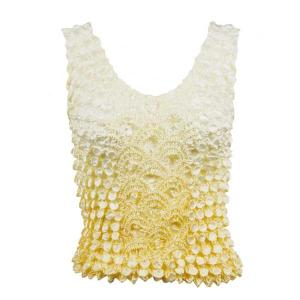 Wholesale  Two-Tone Yellow Coin Fishscale - Tank Top - One Size (S-XL)