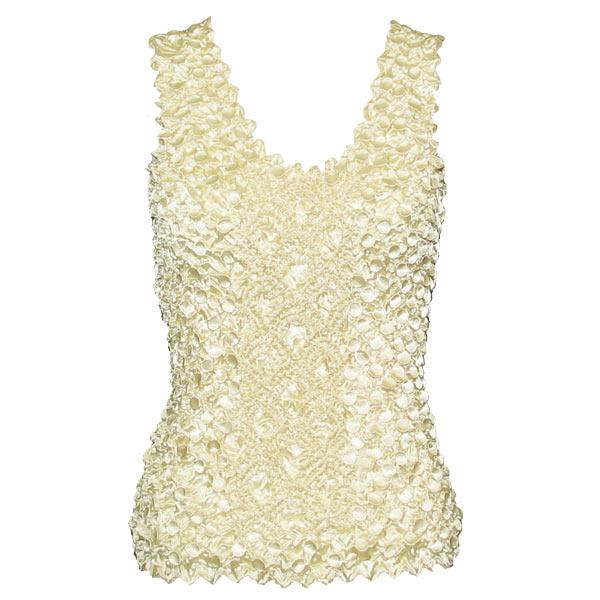 wholesale Coin Fishscale - Tank Top Ivory - One Size (S-XL)
