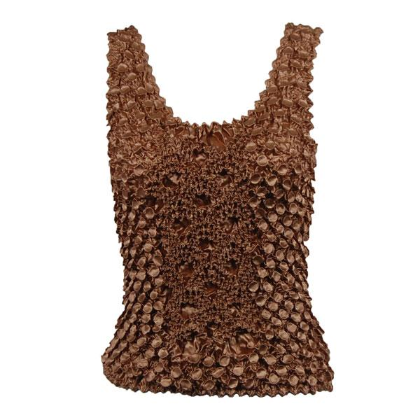 wholesale Coin Fishscale - Tank Top Taupe - One Size (S-XL)